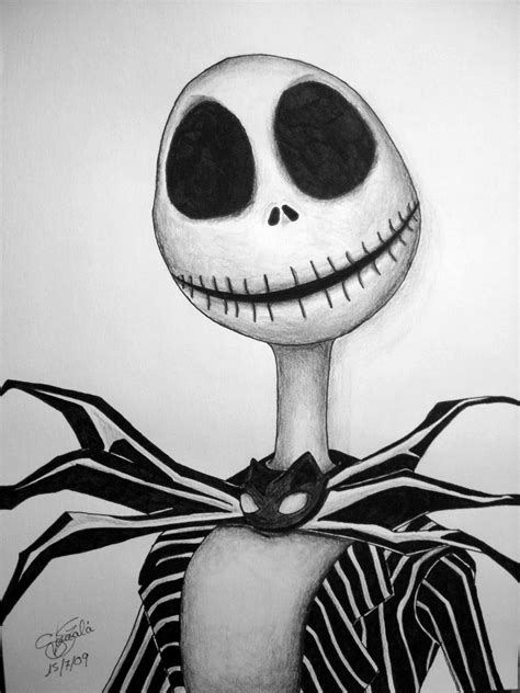 imagenes del jack dibujos de jack skeleton imagui
