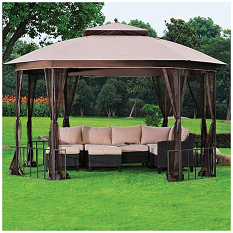 Wilson And Fisher Gazebo View Wilson Fisher 174 11 X 13 Octagon Gazebo