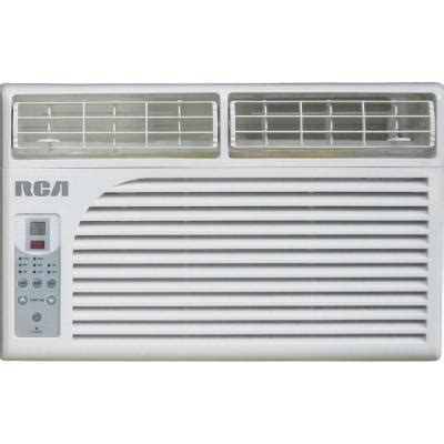 rca 6 000 btu window electronic air conditioner with