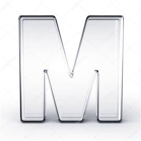 imagenes en 3d en vidrio la letra m en vidrio fotos de stock 169 zentilia 8318377