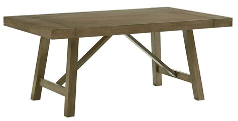 extendable trestle dining table omaha weathered burnished grey extendable trestle dining