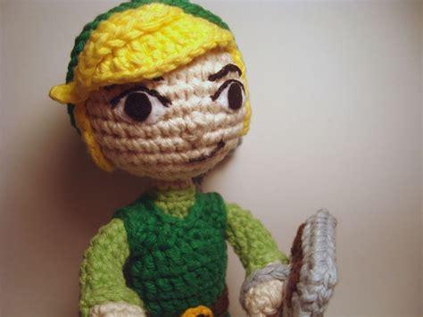 crochet pattern link zelda legend of zelda toon link amigurumi crochet amigurumi
