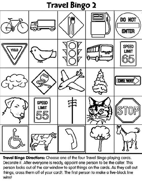 community map coloring page travel bingo 2 coloring page crayola com