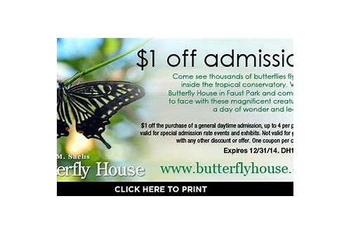 butterfly house chesterfield mo coupons