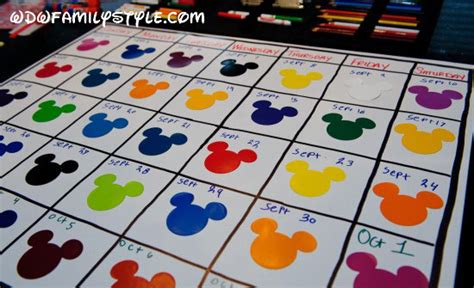 make your own countdown calendar 187 create your own walt disney world countdown calendar