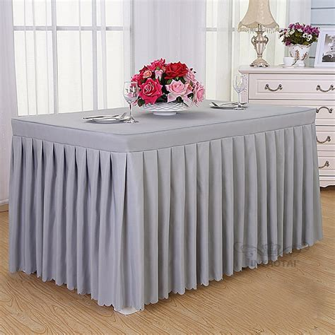 Popular Fancy Wedding Table Skirting Designs Buy Table