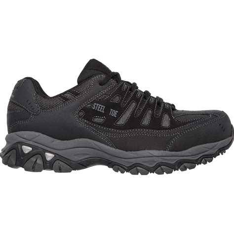 steel toe athletic shoes for skechers work relaxed fit crankton steel toe work athletic