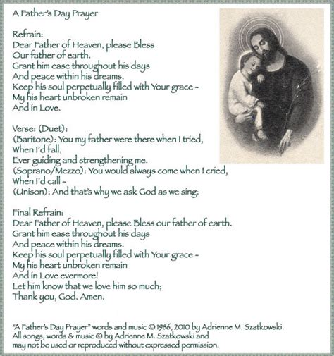 catholic thanksgiving hymns father s day prayer pictures photos and images for