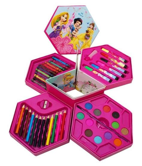 the color box 46 pcs princess color box plastic set buy 46 pcs