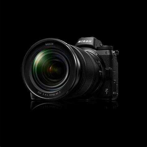 nikon z7 and nikon z6 full frame mirrorless cameras