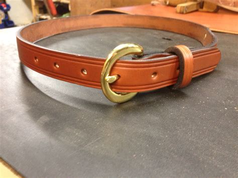 items similar to 3 4 quot custom leather name plate belt on etsy