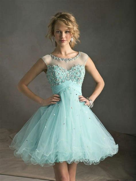 beaded homecoming dresses blue chiffon prom gown evening formal dresses