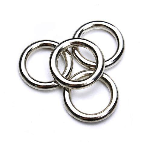 how to make split rings for jewelry 50pcs lot rhodium closed jump rings 15mm single loop