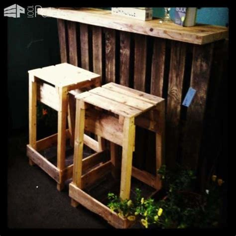 diy outdoor bar stools bucket pallet bars have several unique features 1001 pallets