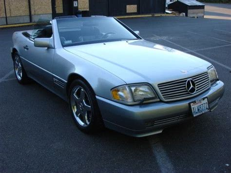 1995 mercedes benz sl600 v12 for sale buy used mercedes benz sl600 1995 convertible in seattle