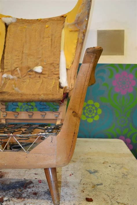 The Traditional Upholstery Workshop - traditional upholstery the bones of a mid century modern