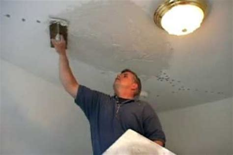how to fix ceiling cracks how to repair a plaster ceiling