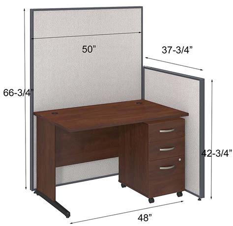 office cubicle desk propanel complete cubicle packages 48 quot w cubicle w desk
