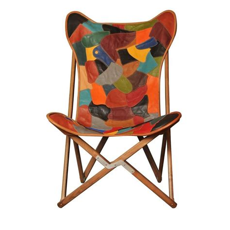 Patchwork Chair For Sale - patchwork leather tripolina chair for sale at 1stdibs