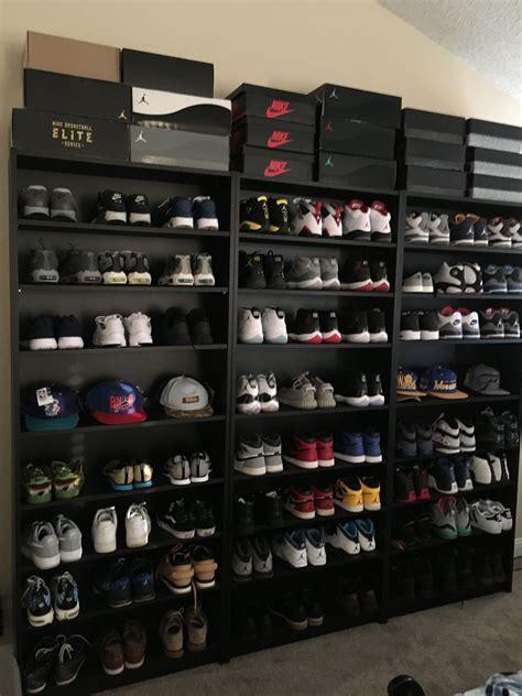 shoe display storage shaniiceee hypebeast