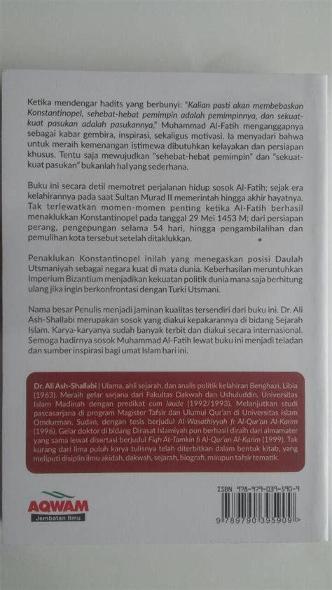 Buku Islam Simple Ramadhan Aqwam buku muhammad al fatih sang penakluk yang diramalkan