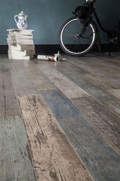 wood look tile 17 distressed rustic modern ideas - Rustic Wood Look Tile