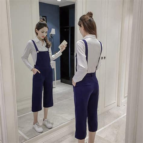 Jumpsuit Import Murah Xy61320 jumpsuit wanita simple casual 2017 model terbaru jual murah import kerja