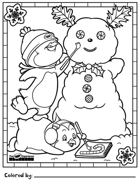 crayola coloring pages holidays line art by mischell quot meech quot yost at coroflot com