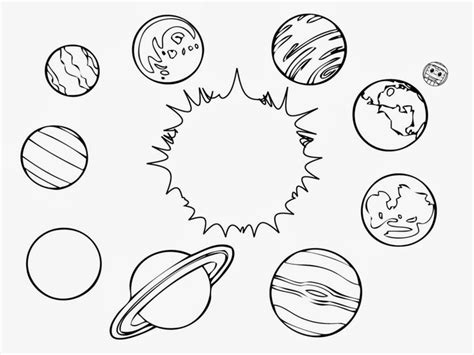 coloring pages for uranus solar system color page printable solar system coloring