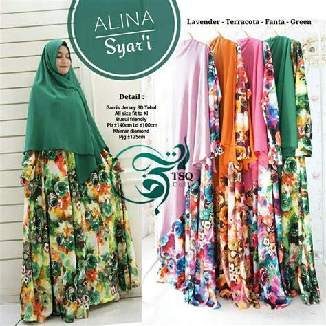 Gamis Murah Motif Bunga baju gamis motif bunga