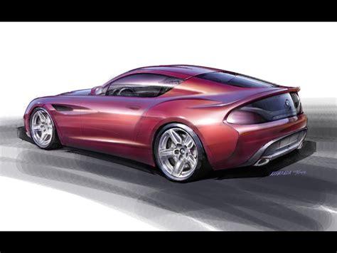 sketch book car 2012 bmw zagato coupe design sketch 2 1280x960 wallpaper