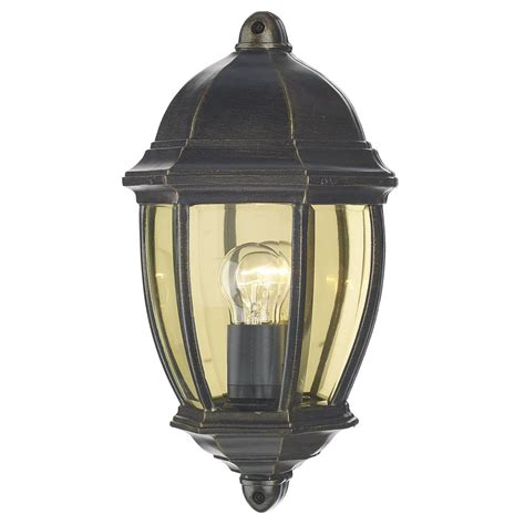 newport lights newport wall light black gold