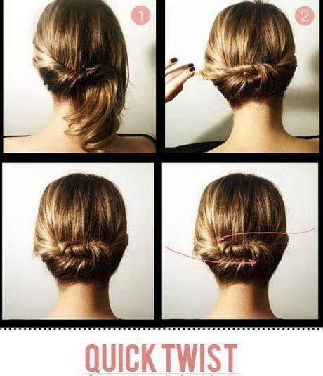 quick and easy romantic hairstyles hairdos for short to medium hair