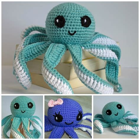 cloth sewing checks a magic pat trick pattern scissors amigurumi octopus baby toy free pattern part 2