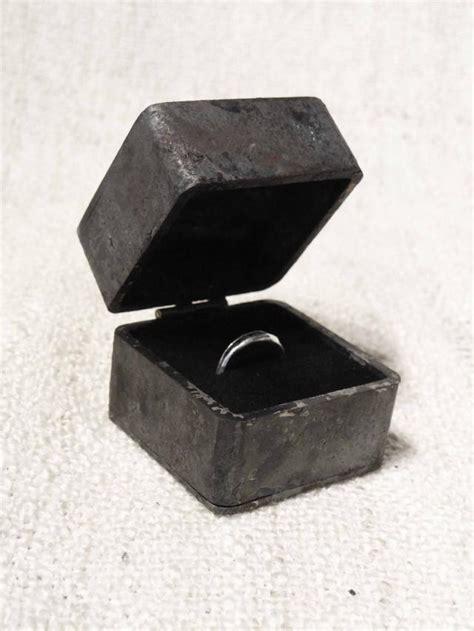 engagement ring boxes proposal engagement ring box iron wedding ring box