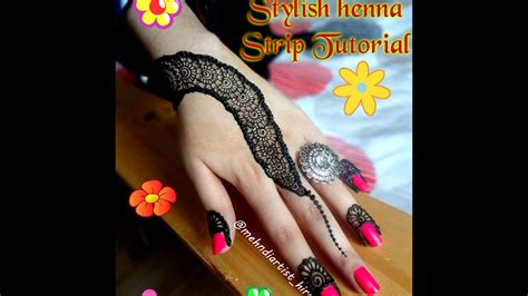 how to apply easy simple henna mehndi designs for hands