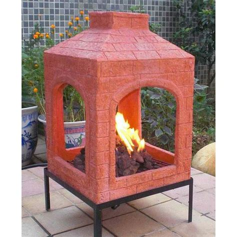 ceramic chiminea pit pit design ideas