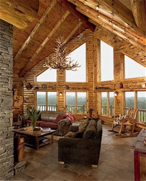 awesome log home interior interior log home open floor log cabin borlie