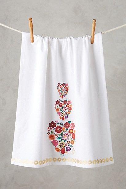 Kitchen Towels Anthropologie Sweet Floral Dishtowel S Day Pretties