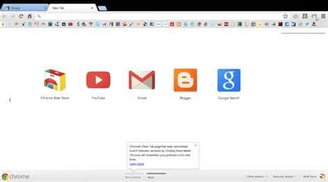 google chrome top bar windows 8 why is there a black bar on top of google