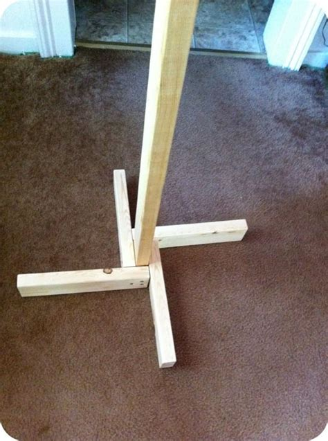 build  coat tree stand woodworking projects plans