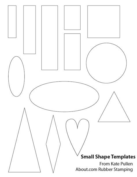 Printable Small Shapes 11 best images of sign shapes templates printable free
