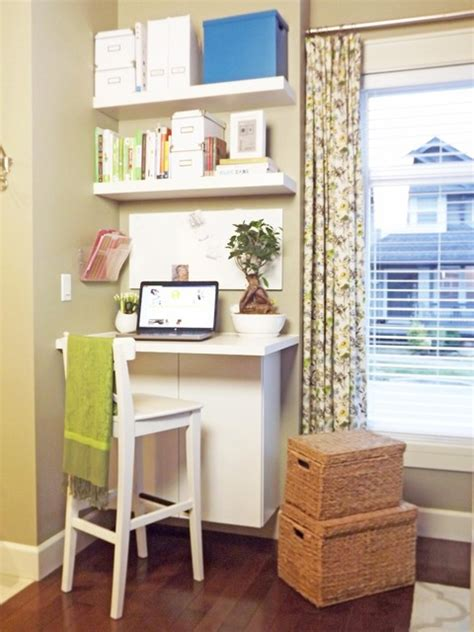Our Mini Manor Small Desk Area