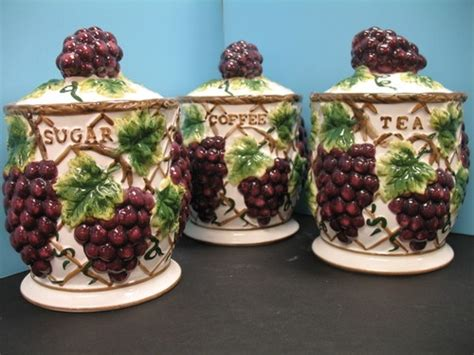 grape canister sets kitchen canisters for kitchen canisters and 3d on pinterest