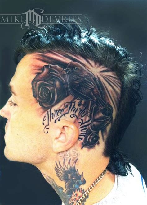 rose tattoo song list mike devries tattoos flower song bird and roses