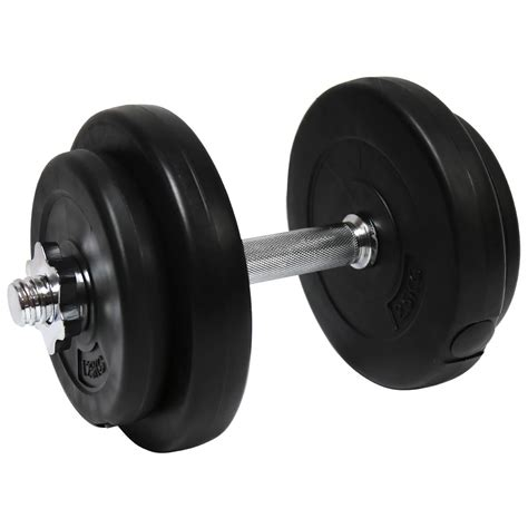 Dumbell 20 Kg Bentley Fitness 20kg Cement Dumbbell Weights Buydirect4u