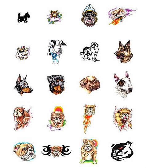 dog tattoos and designs page 186