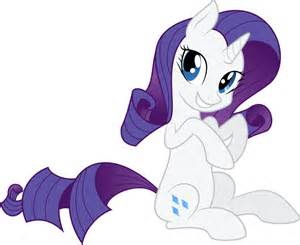 rarity is cute by hourglass vectors on deviantart