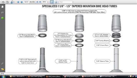 Jual Adaptor Fork Tapered tapered headset adapter mtbr