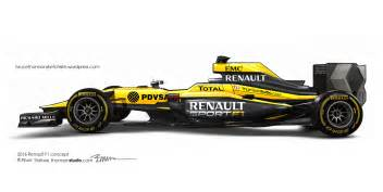 Renault F1 2016 Renault F1 Concept In My Headlights